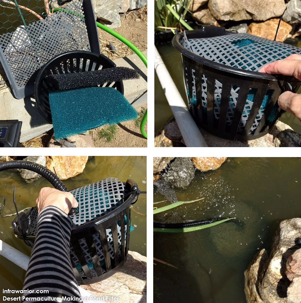 Making a DIY Pond Filter